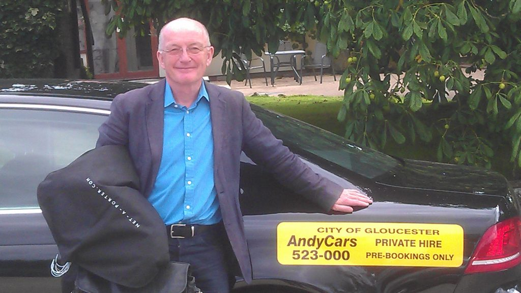 Andy Cars Taxi with Oz Clarke