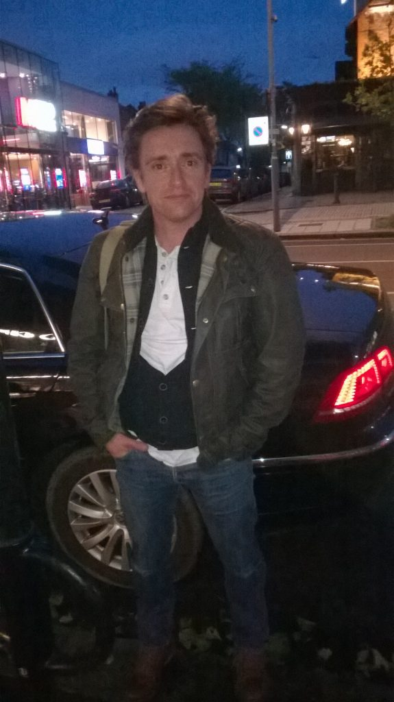 Andy Cars Taxi with Richard Hammond