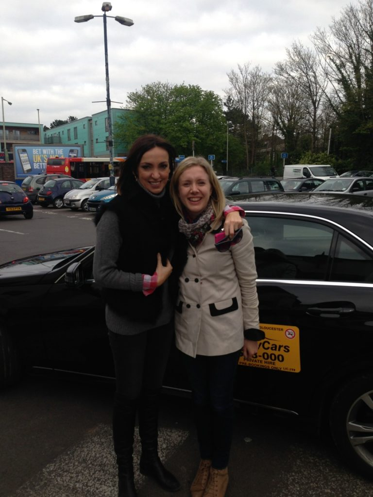 Andy Cars Taxi with Sally Nugent