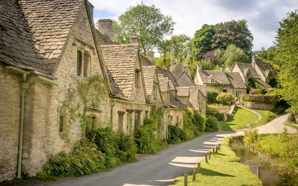 English Countryside Village
